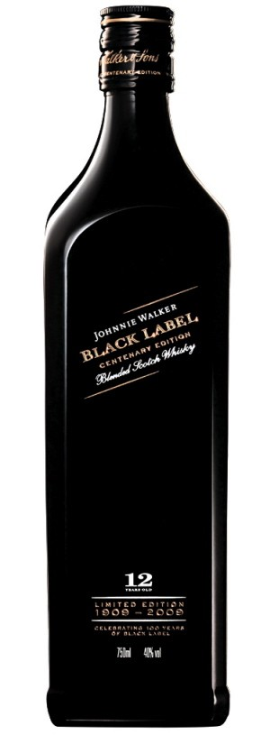 Johnnie Walker Black Label 100 year centenary.