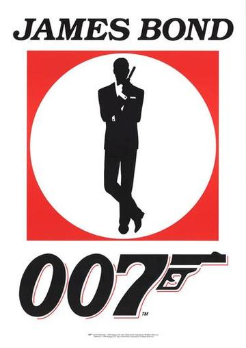 Cover Design James-bond-logo-poster-c100534671