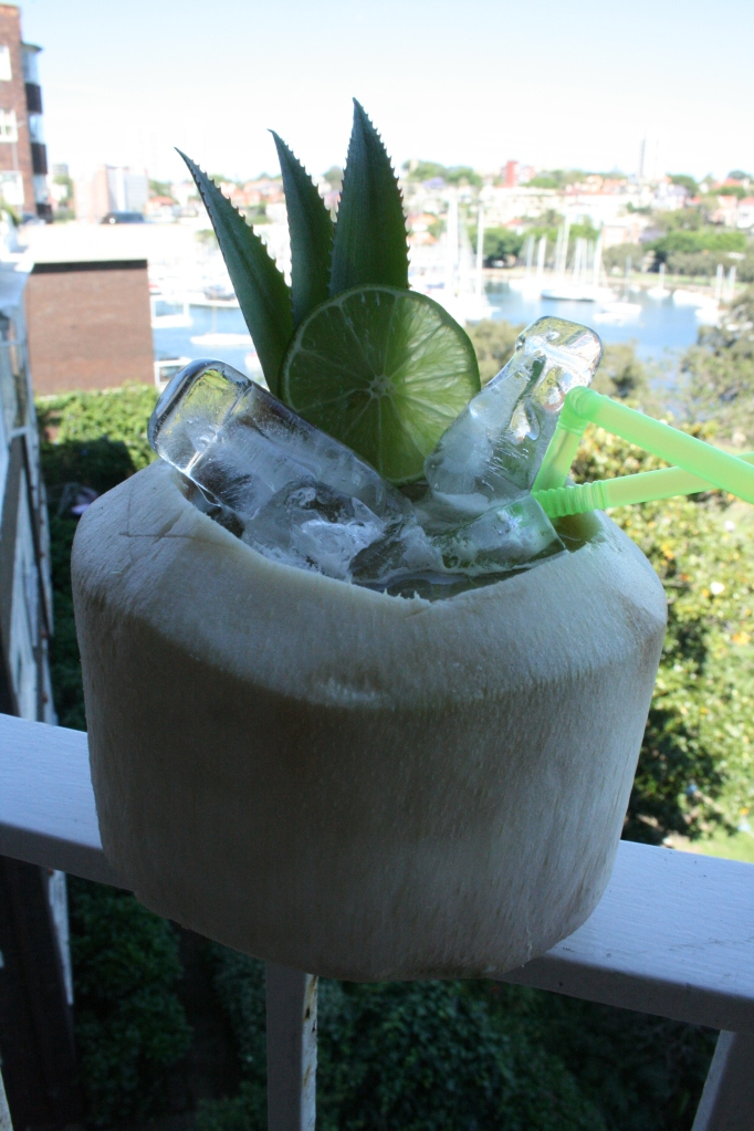 Tiki Drink - Lime in the Coconut