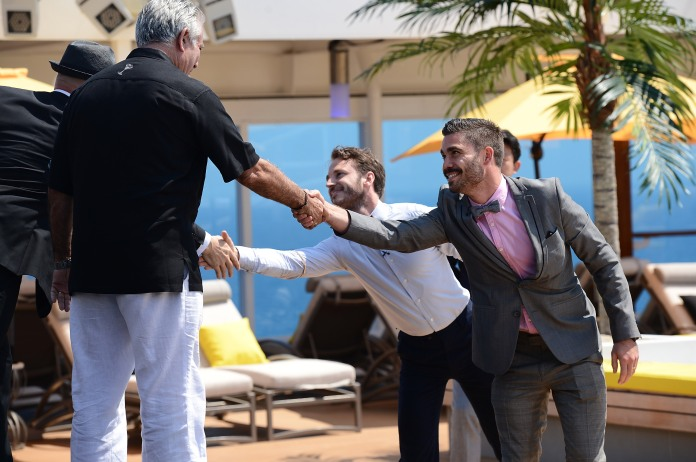Shaking hands with King Cocktail