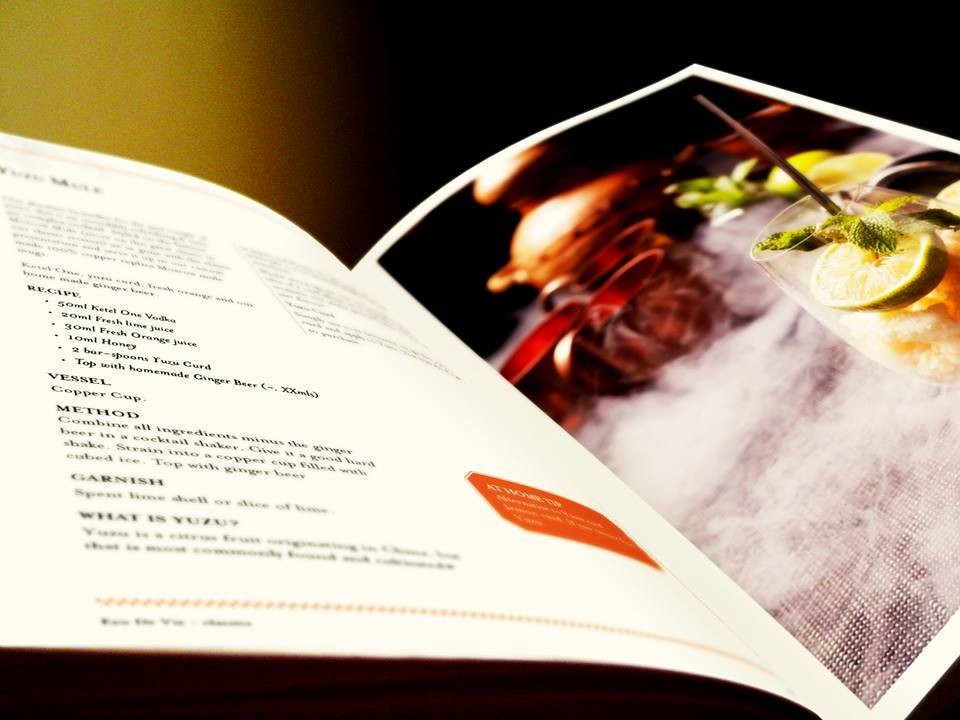 Eau de Vie cocktail book