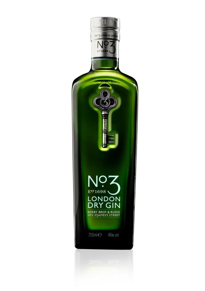 No 3 London Dry Gin 750ml HR
