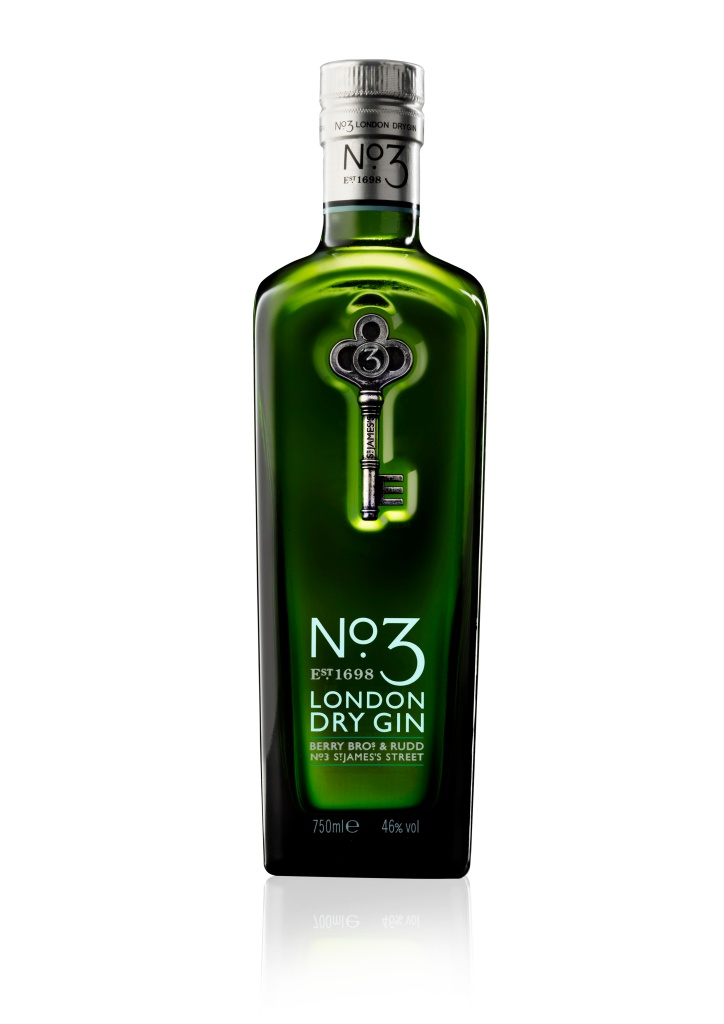 No 3 London Dry Gin 750ml HR
