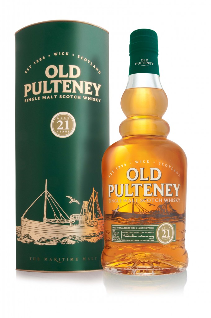 Old Pulteney 21yr Old Single Malt Scotch Whisky